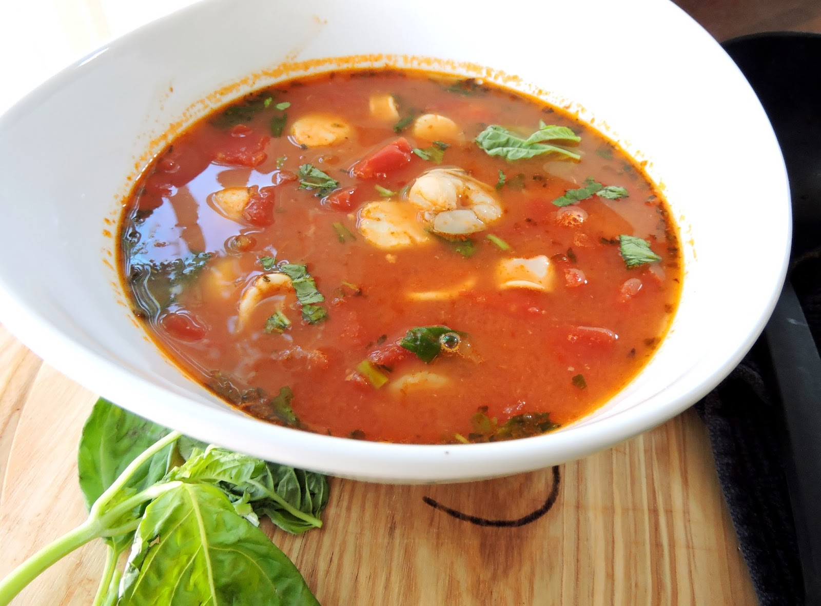 Simplified Seafood Stew Cioppino Just Jessie B